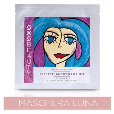 Maschera Viso Luna effetto Illuminante Anti-Inquinamento (25 ml)