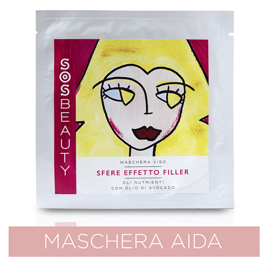 Sos Beauty Maschera Viso Aida Effetto Rimpolpante (25 ml)