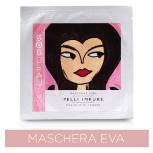 Sos Beauty Maschera Viso Eva Effetto Purificante (25 ml)