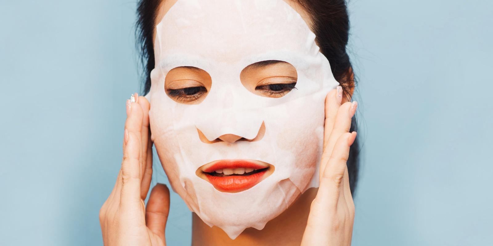 applicazione maschera viso sos beauty