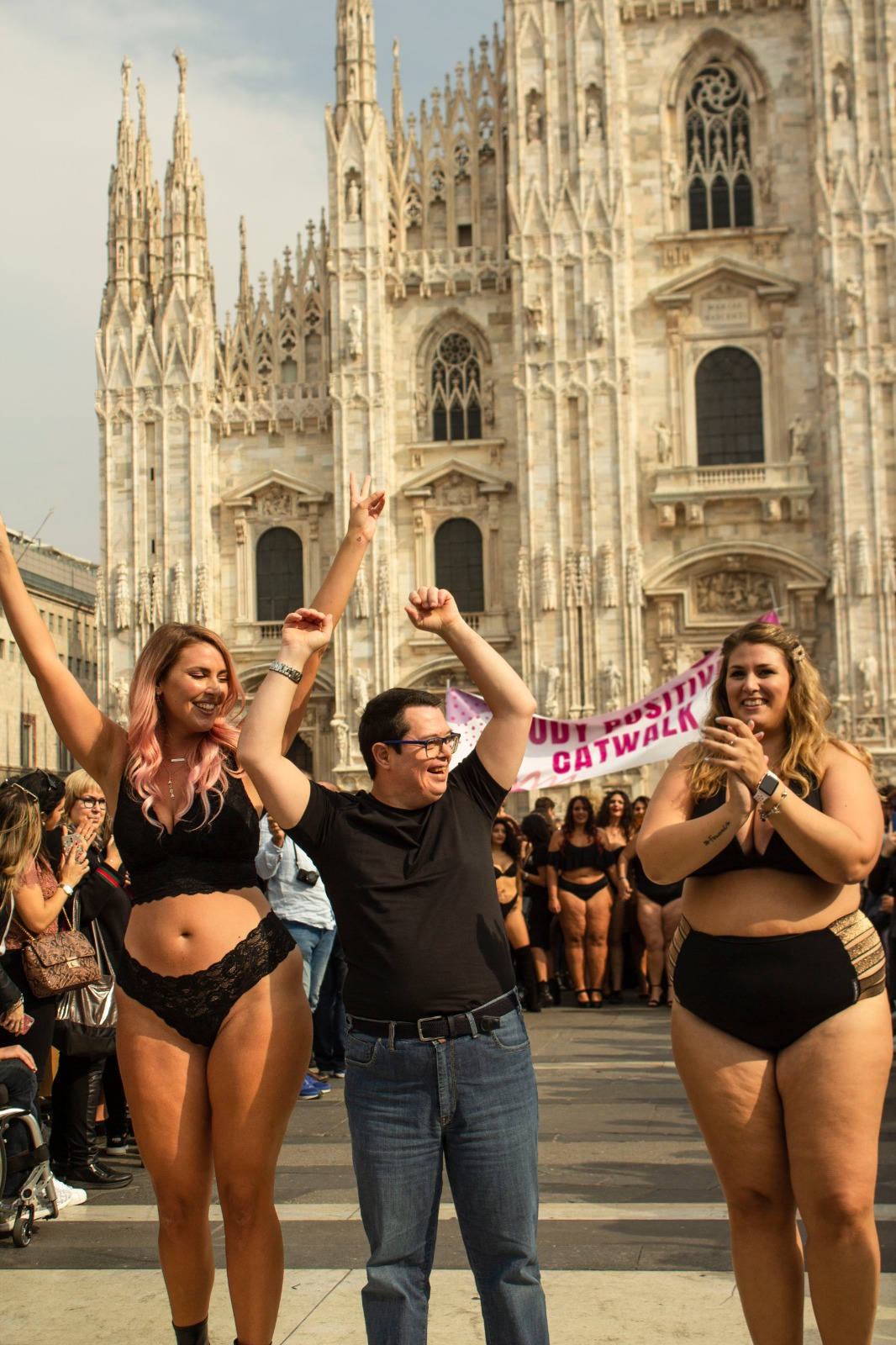 bodypositive body positive milano catwalk micol olivieri laura brioschi sos beauty
