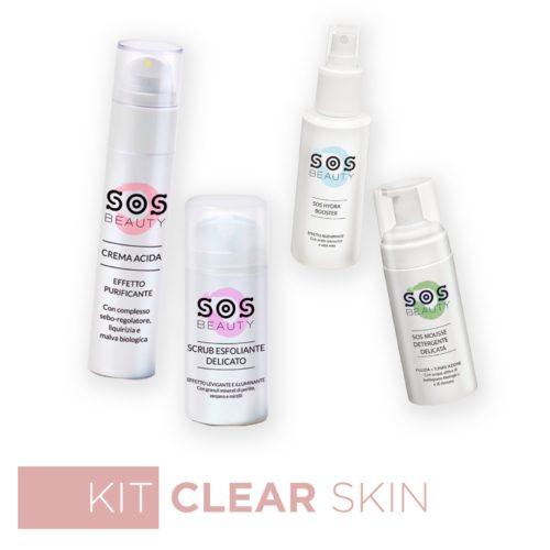 kit clear skin sos beauty