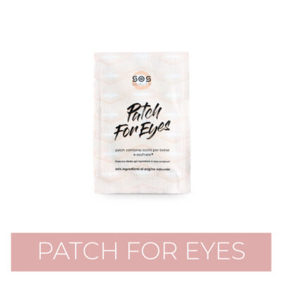 Aiuta il tuo contorno occhi con i patch occhi SOS Beauty