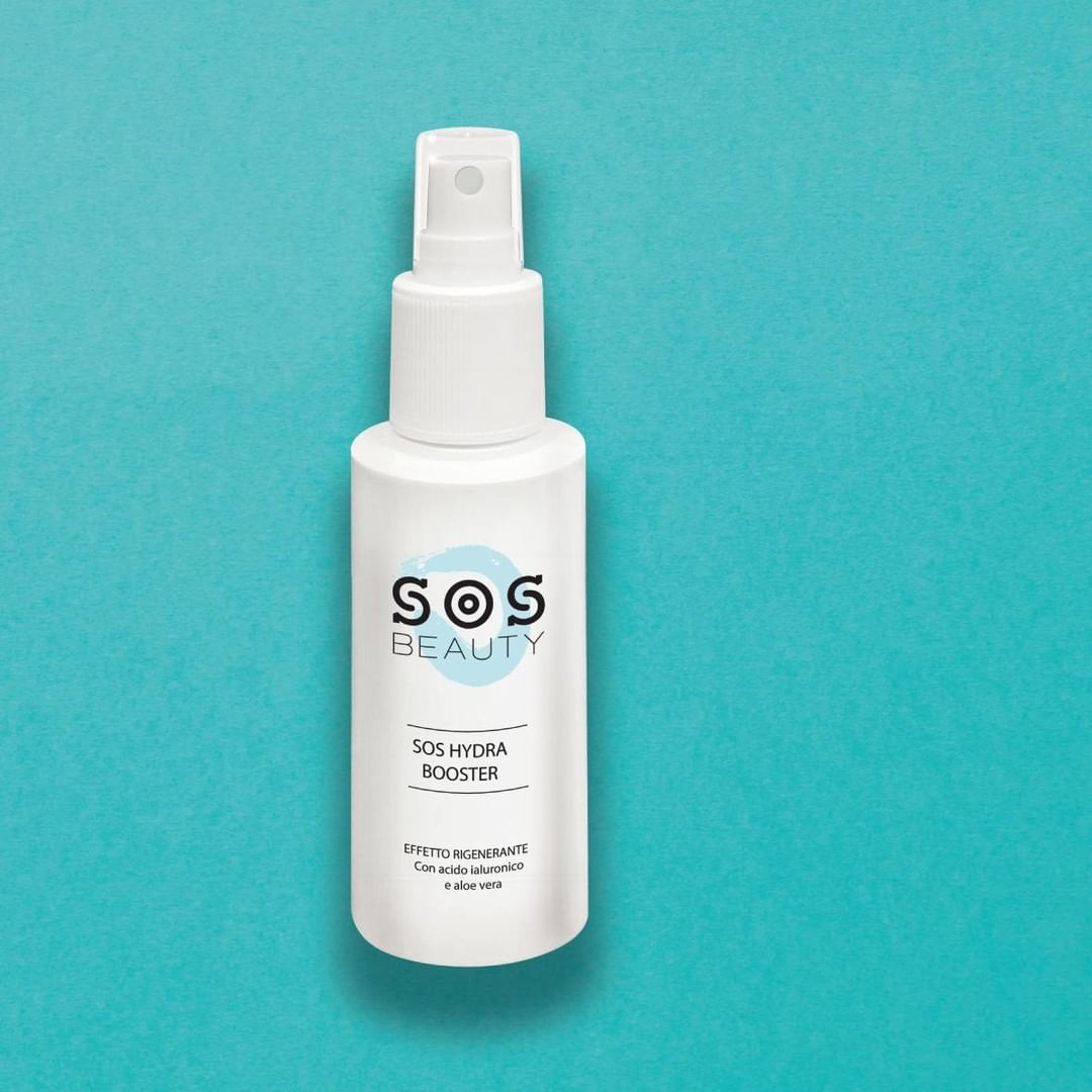 SOS Hydra booster - face mist: tonico, acqua idratante, fissante trucco
