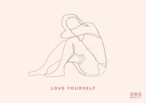 love yourself - illustrazione