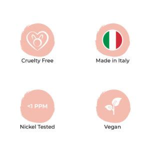 Prodotti SOS Beauty cruelty free, made in Italy, nickel tested e vegan
