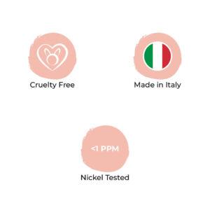 prodotti sos beauty made in Italy, cruelty free e nickel tested